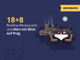 18+8 Rooftop Restaurants und Bars mit Blick auf Prag