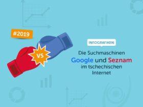 Infografiken: Die Suchmaschinen Google und Seznam im tschechischen Internet #2019