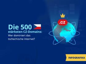 Die 500 stärksten CZ-Domains: Wer dominiert das tschechische Internet?