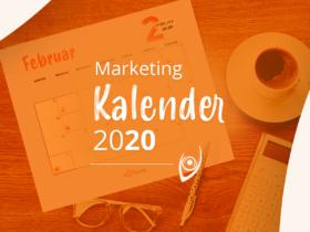 Marketing Kalender 2020