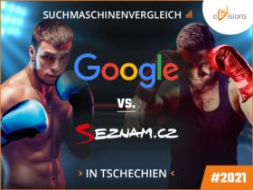 Google vs. Seznam – Suchmaschinenvergleich